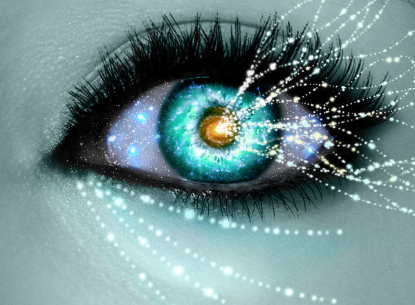 YOU BRING LIGHT TO THE MAGNETISM OF YOUR GAZE, KNOW ITS POWER.