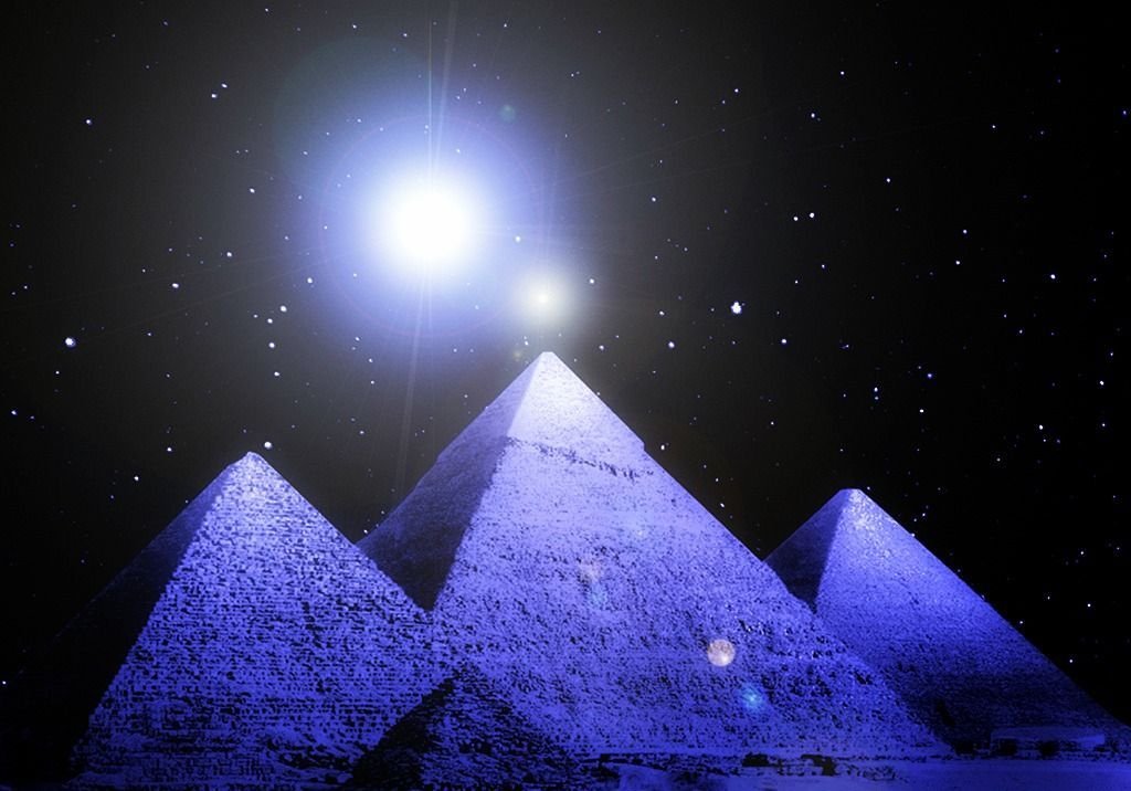 THE VISITORS FROM ANOTHER PLANET THAT CREATED YOUR BODIES AND YOUR PYRAMIDS ARE RETURNING.